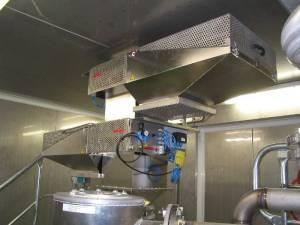 separator magnetyczny Goudsmit oczyszczanie automatyczne sito magnetyczne samoczyszczące